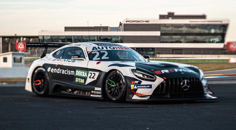 HTP Winward Mercedes AMG Lucas Auer